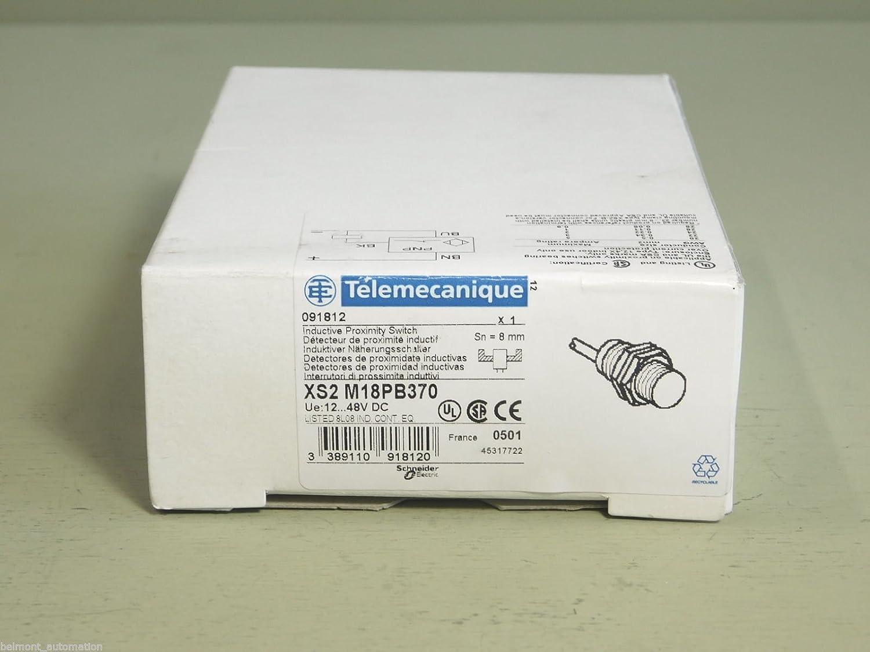 BRAND NEW - Telemecanique X52 M18PB370 091812 Proximity Sensor Switch: Amazon.com: Industrial & Scientific