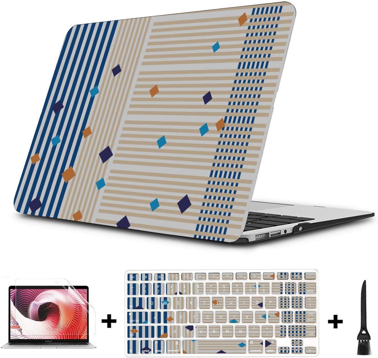 Fundas para Mac Armonioso Lindo Hermoso Pintura Plástico Carcasa Dura Compatible Mac Air 11
