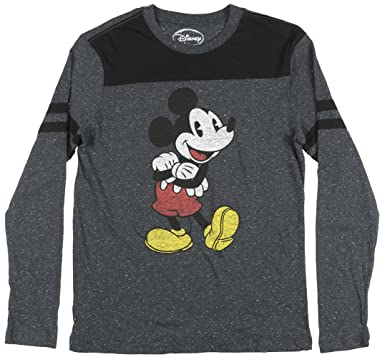ee87ce78685 Amazon.com  Disney Mickey Mouse Long Sleeve Graphic T-Shirt  Clothing