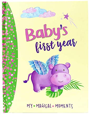 Amazon.com: Lil Starseed - Libro de recuerdos para bebés de ...