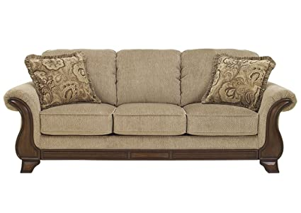 Swell Ashley Furniture Signature Design Lanett Sleeper Sofa Queen 3 Seat Traditional Couch With Sofa Bed Inside Barley Download Free Architecture Designs Scobabritishbridgeorg