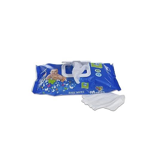 Magics Diapers - Baby Wipes - Toallitas húmedas para bebes - 12 x 72 toallitas: Amazon.es: Alimentación y bebidas