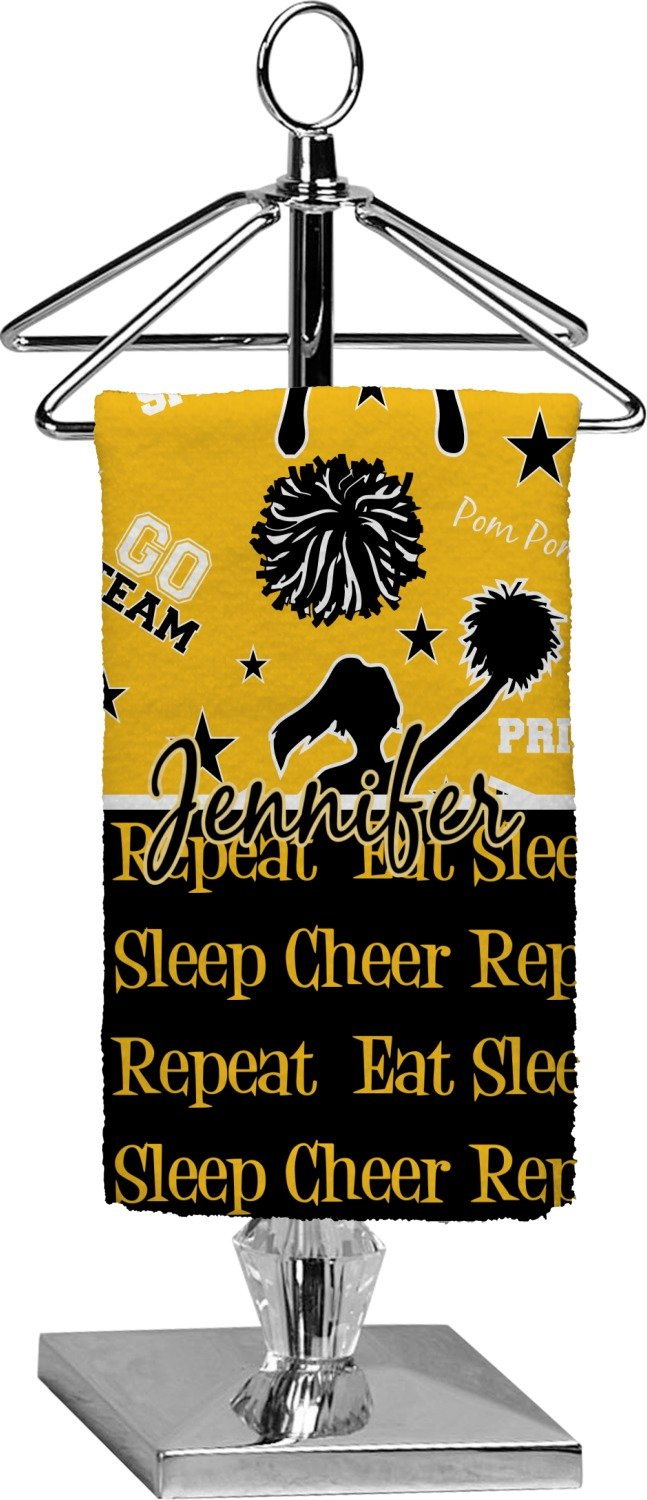 RNK Shops Cheer Finger Tip Towel - Full Print (Personalized)