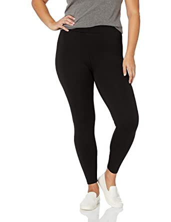 2b54b12683 Amazon.com: Daily Ritual Women's Plus Size Ponte Knit Legging: Clothing