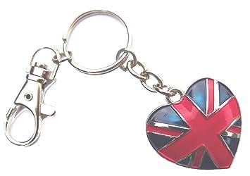 I Love London llavero de metal forma de corazón Logo en ...