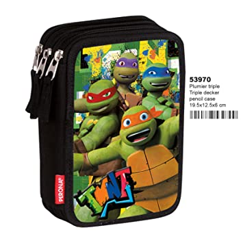 Tortugas Ninja- Plumier,, 20 Centímetros (Montichelvo_53970 ...