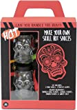 Make Your Own Hot Sauce: Skull Chili Edition | A Collection of Spices and Materials for Crafting Homemade, Small Batch Hot Sauces