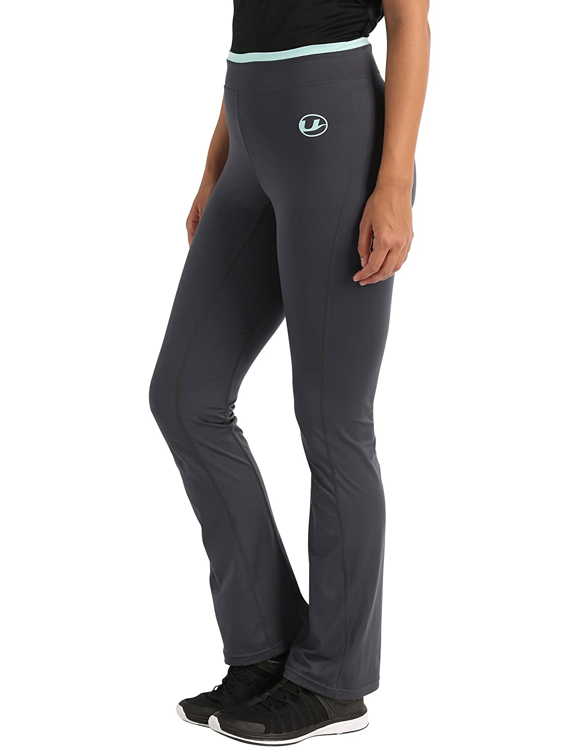 with Quick-Dry Function Ultrasport Womens Antibacterial Fitness Pants Long