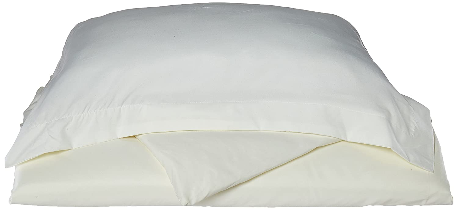 Twin Size Off White vand/_us/_t-offwhite-dvt Clara Clark Premier 1800 Collection Duvet Cover Set