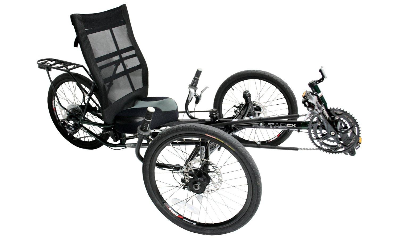 Liegerad EZ-Tad CX für Erwachsene, mit Komfort-Sitz, 130 kg ...