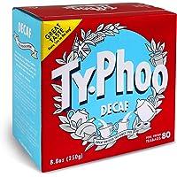 Typhoo Tea Orange Pekoe Decaf Tea, 80 Count