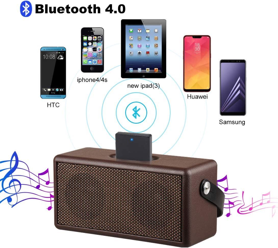 Cell Phones & Accessories Geva Bluetooth Audio Receiver for 30 Pin ...