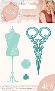 Sara Signature Collection Sara Signature-Sew Lovely Dressmaker Metal Die, us:one size, Silver