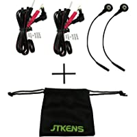 2pcs jtkens electrodo de repuesto Cable de plomo