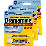 Dramamine Original Formula - 12 ct, Pack of 3