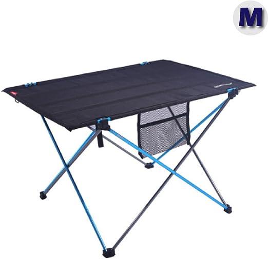 Tavoli Pieghevoli Da Barca.Azarxis Tavolo Da Campeggio Pieghevole In Alluminio Tavolino Da