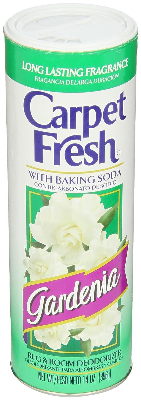 Carpet Fresh Rug and Room Deodorizer with Baking Soda, Gardenia Fragrance, 14 OZ