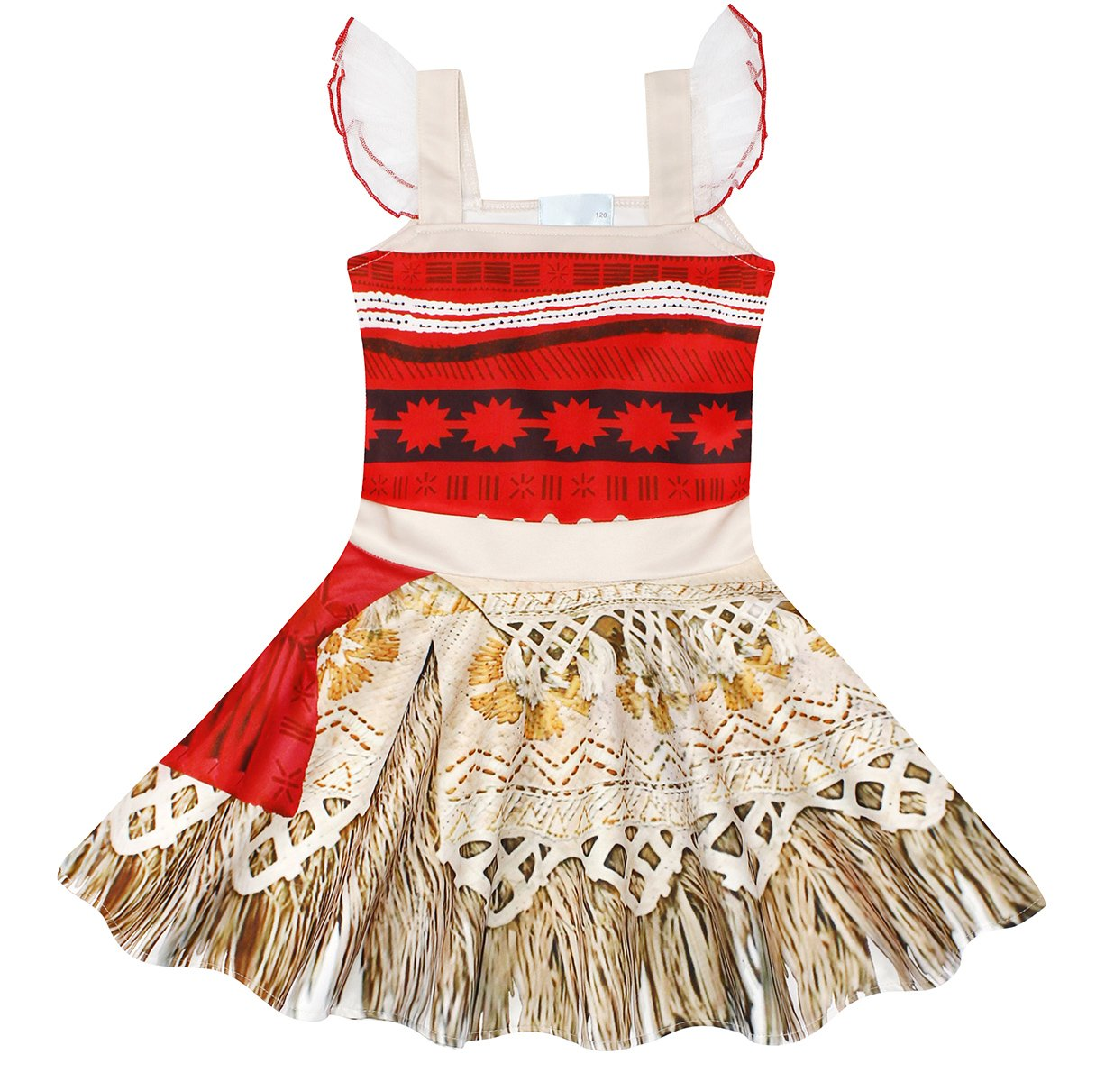 Girls' Clothing (sizes 4 & Up) Clothing, Shoes & Accessories Objective Moana Costume Princess Dress Girls Halloween Cosplay Dress Sleeveless Gown Dress