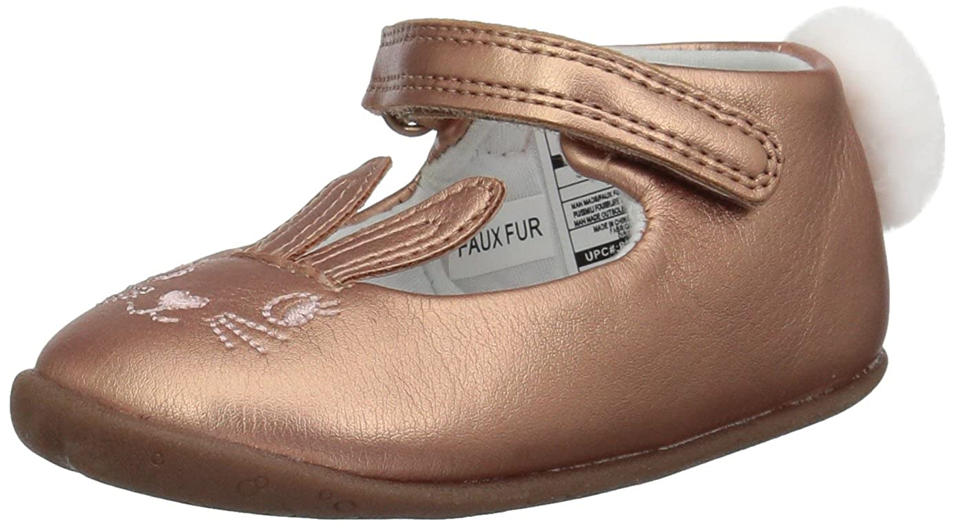 Carters Every Step Girls Stage2 Stand Esti-SG Ballet Flat 3 M US Pink 9-12 Months