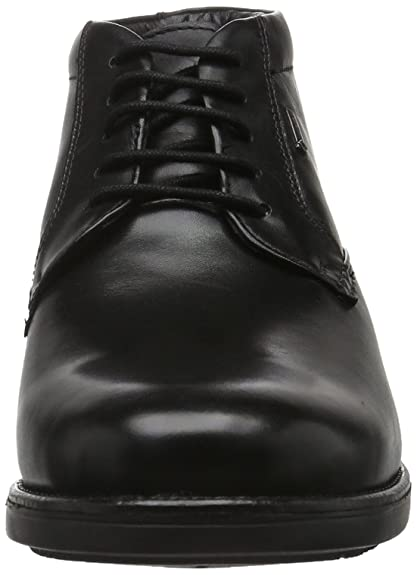 Clarks Hopton Mid GTX, Botines para Hombre, Negro (Black Warm Lined Leather), 39 EU: Amazon.es: Zapatos y complementos