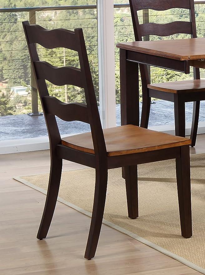 Amazon.com: Icónico muebles ch59-wy-ma escalera de ...