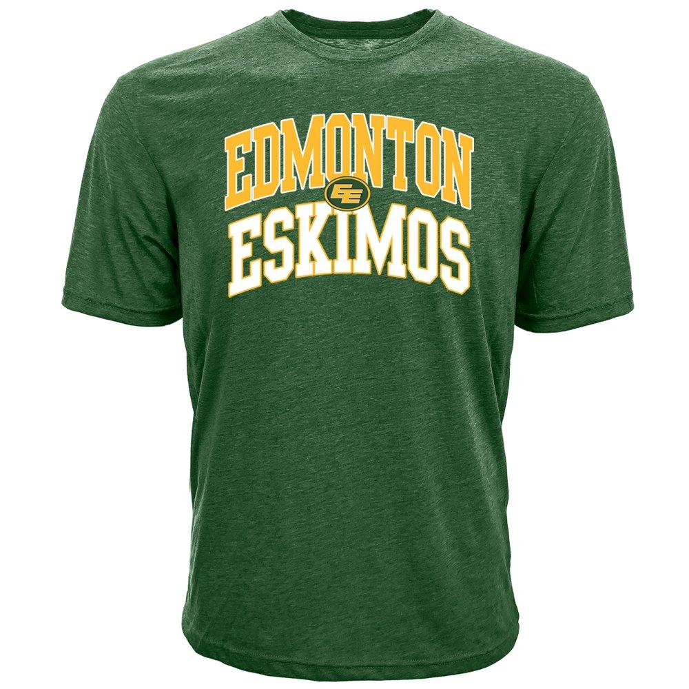 Levelwear 00NT60DS0066F02001UGRNFRS2MED Men's Edmonton Eskimos Richmond Performance Arch Tee, Green Medium Accolade group inc.