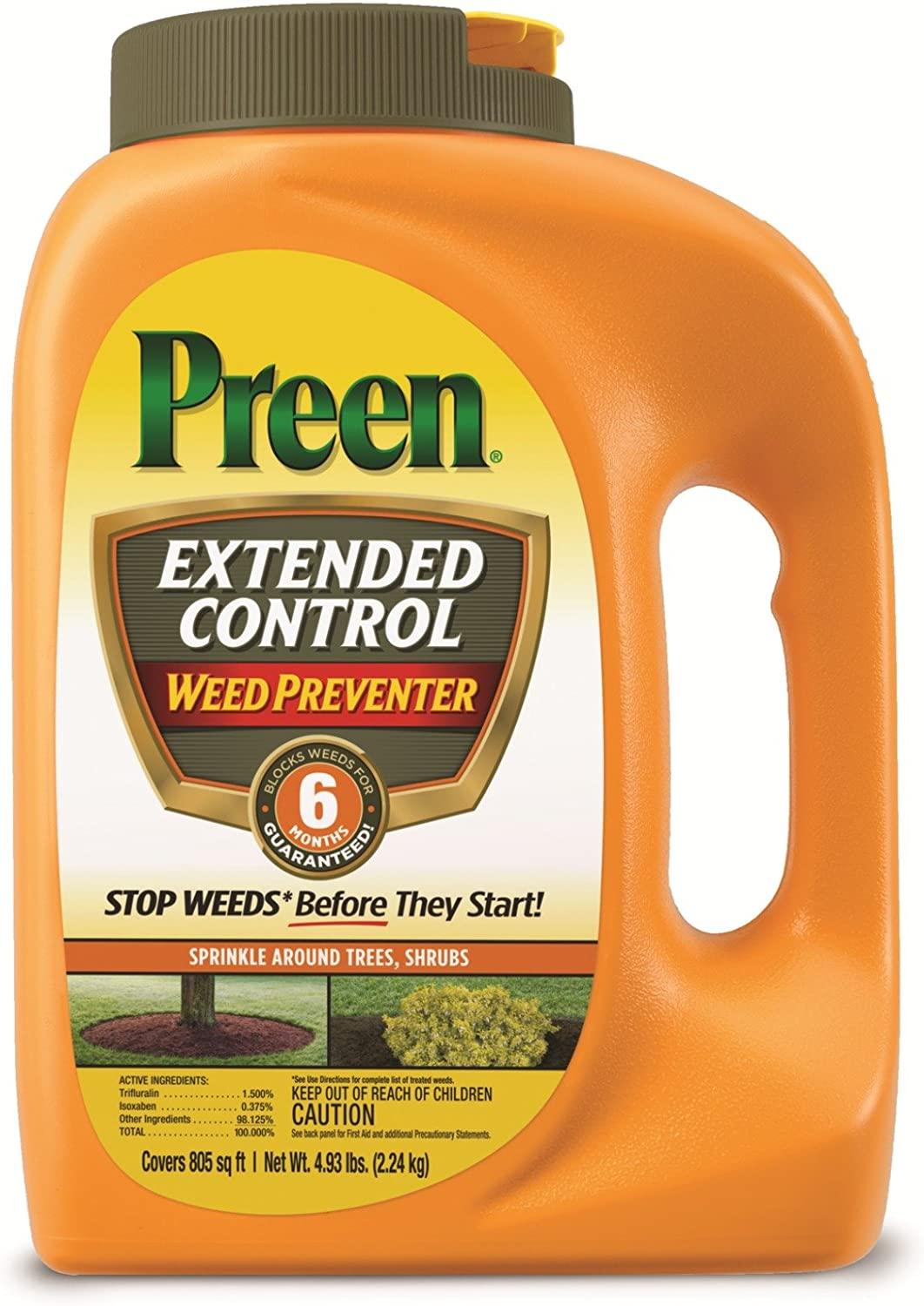 Preen 2464092 Extended Control Weed Preventer