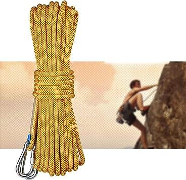 La cuerda de seguridad portátil, la cuerda de escalada ligera ...