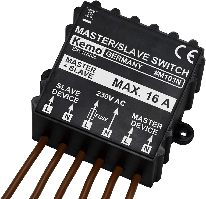 Unbekannt KEMO M103N - Interruptor y regulador de Intensidad ...