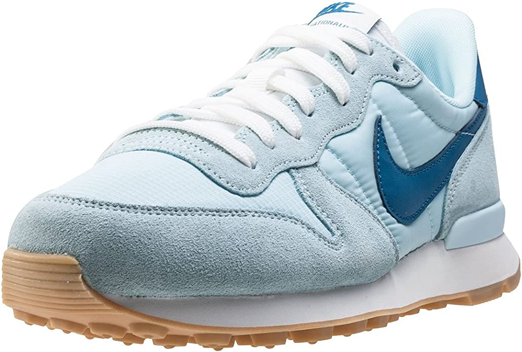 Nike Internationalist Sneakers Damen Gletscher Blau