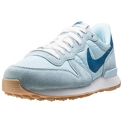 online store a02f6 366dc Nike Damen WMNS Internationalist Sneaker Blau (Glacier Industrial Blue), 38  EU