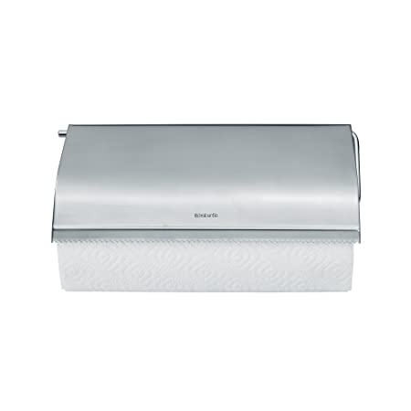 Brabantia Wall Mounted Kitchen Roll Holder Matt Steel Brabantia