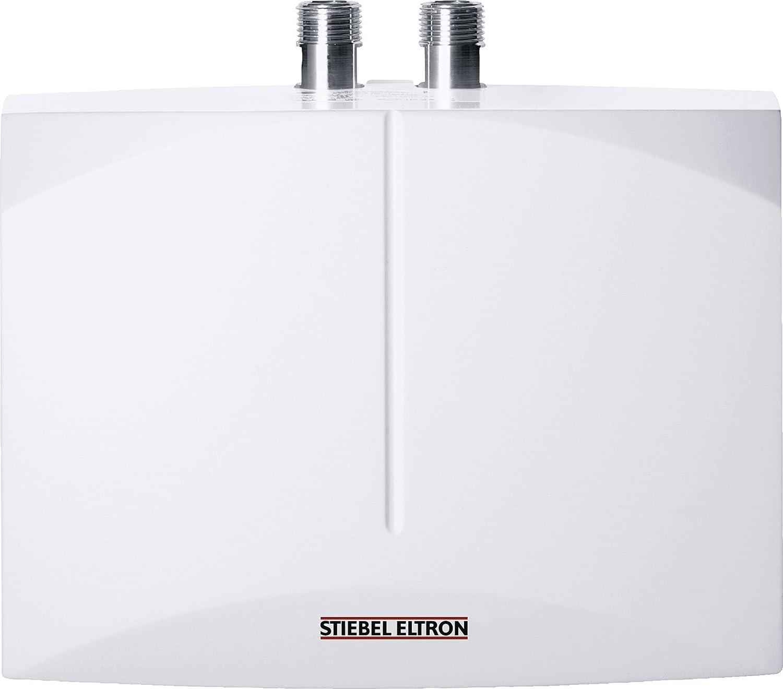 STIEBEL ELTRON DEM 4, elektronischer Mini-Durchlauferhitzer, 4,4 kW, drucklos und druckfest fü r Handwaschbecken, 231002