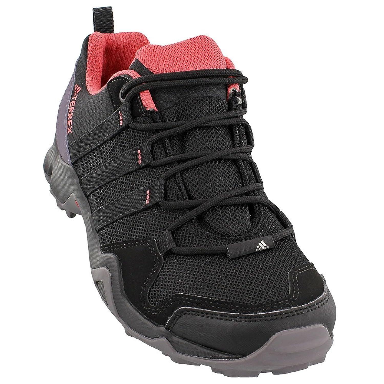 adidas outdoor Terrex AX2R Hiking Shoe - Women's Black/Black/Tactile Pink, 9.5