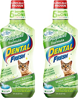 product image for Dental Fresh Water Additive for Pets - Clinically Proven, Simply Add to Pet's Water Bowl to Whiten Teeth