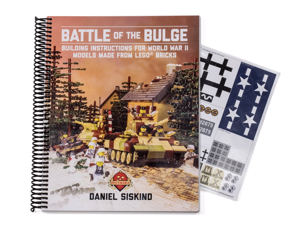 Battle of the Bulge: Building Instructions for World War II Models