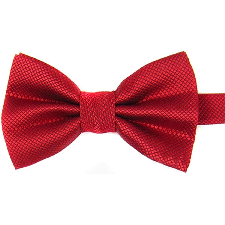 Timagebreze - Corbata de Mariposa, de poliéster Liso para Hombre ...