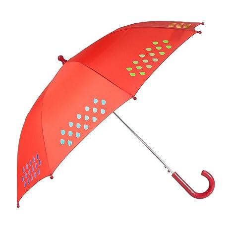 Suck UK Paraguas Que Cambia de Color para niños, Tela, 67.50x10.00x5.50 cm