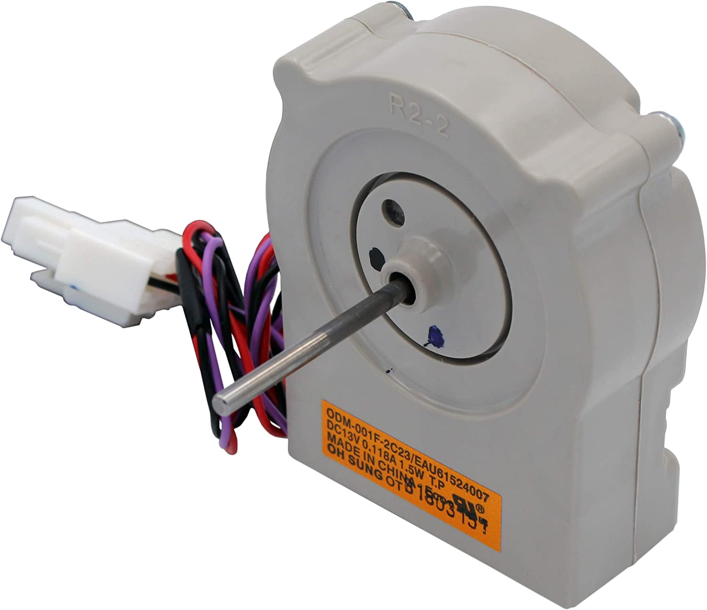 Supplying Demand EAU61524007 Evaporator Freezer Fan Motor Replaces EAU60694510 Compatible With LG