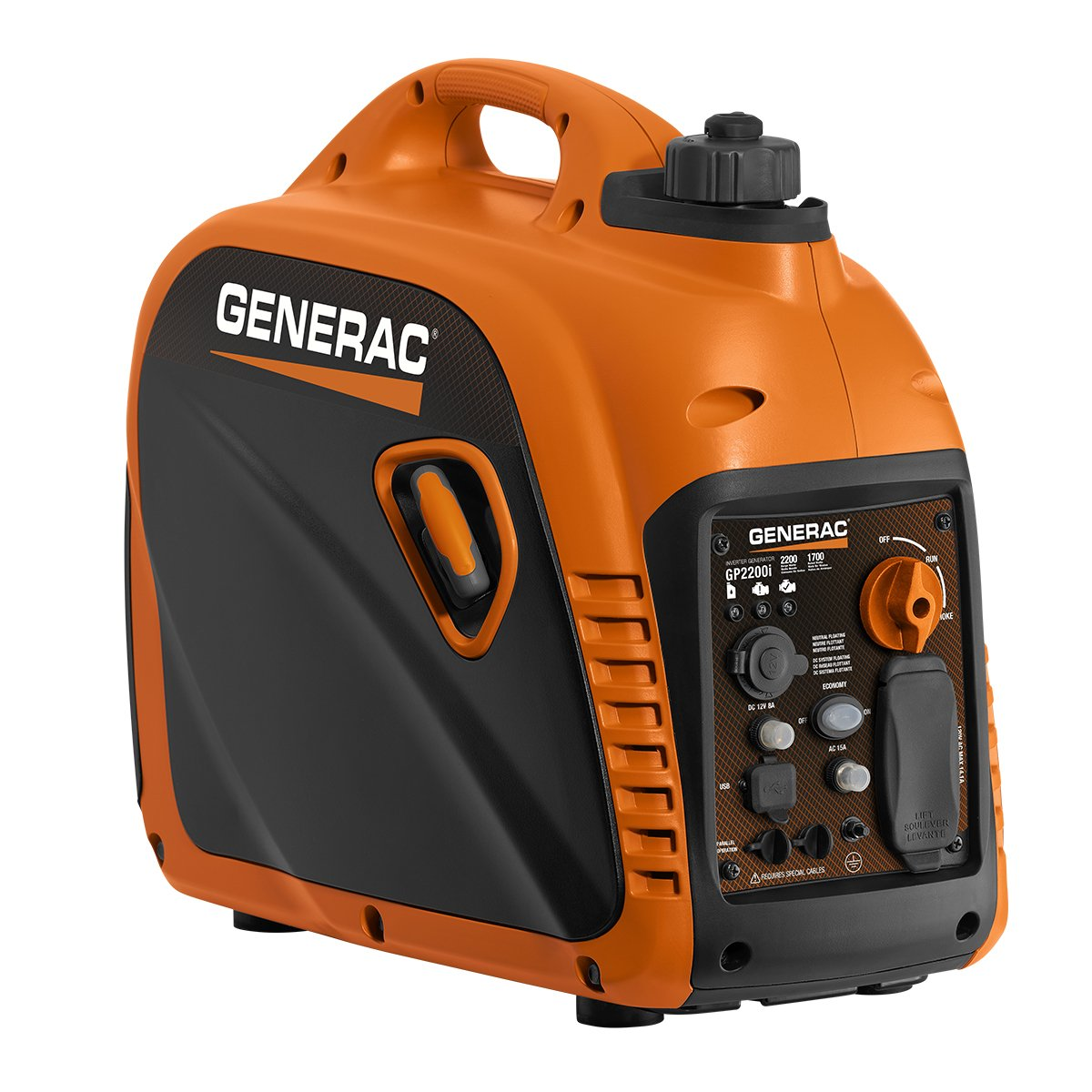 2200 Watt Portable Inverter Generator - Parallel Ready