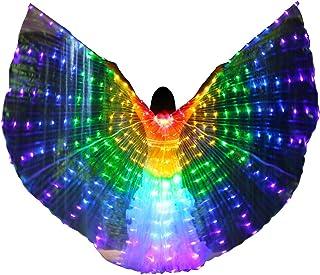 Bldance Ali di Iside LED Danza Multicolore con Bastoni