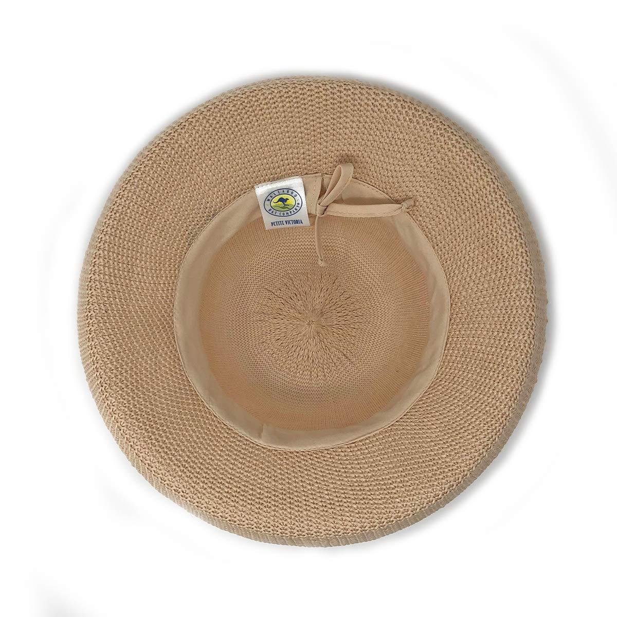 833edc956bf Wallaroo Hat Company Women s Petite Victoria Sun Hat - Perfect for Smaller  Heads - Tan