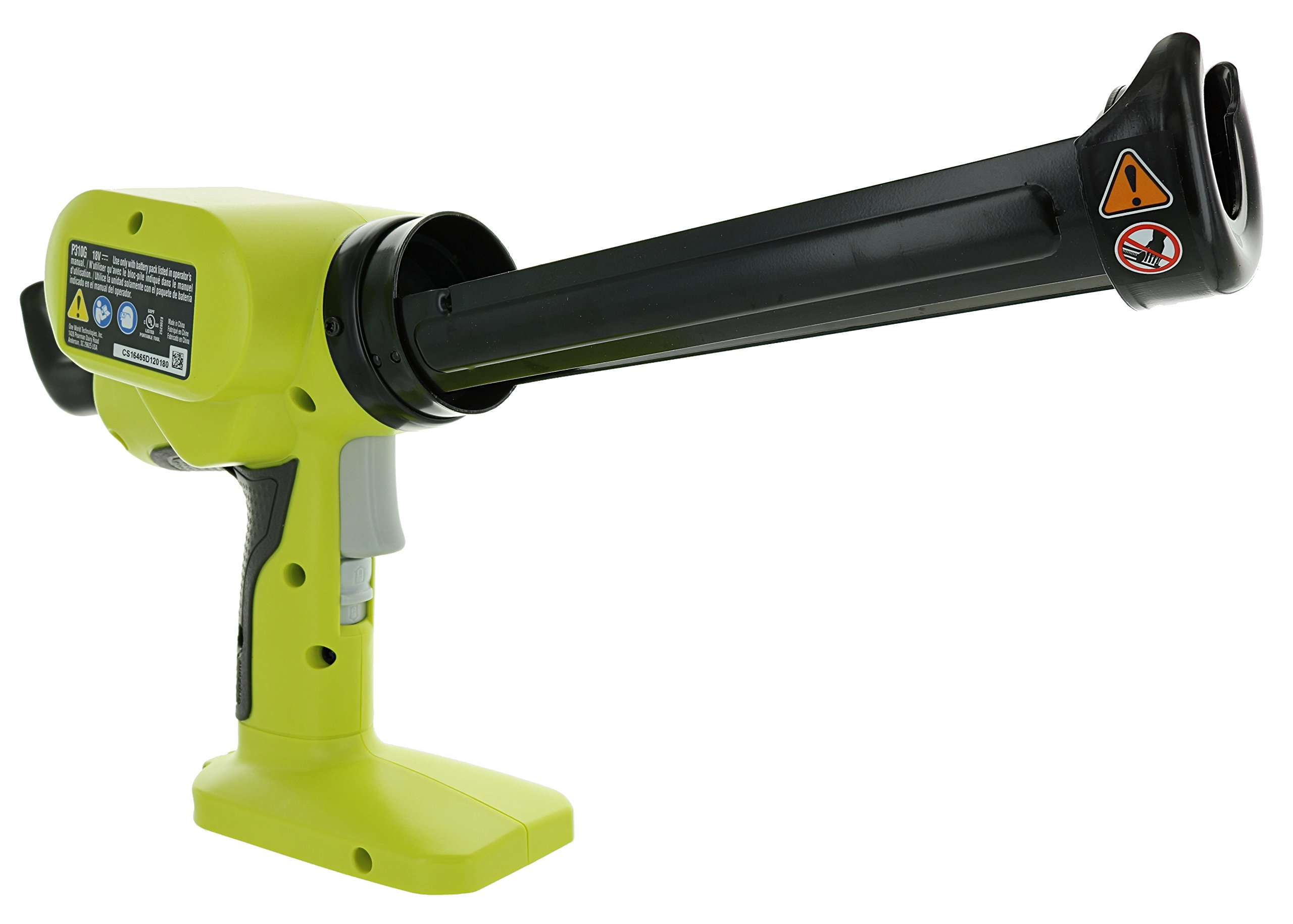 Ryobi P310G 18v Pistol Grip Variable Discharge Rate Power Caulk and Adhesive Gun (Tool Only, Holds 10 Ounce Carriage) by Ryobi (Image #3)