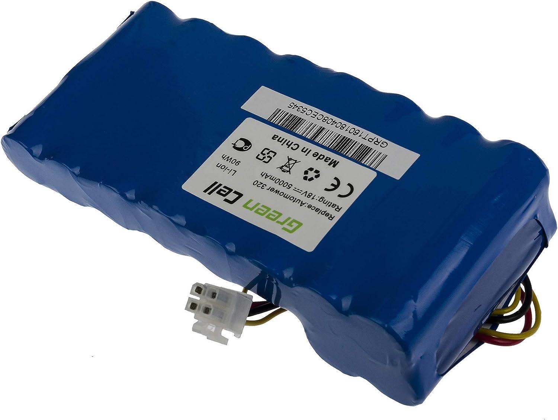 GC/® Batterie pour Husqvarna Automower 330X Outils de jardin /électriques 5Ah 18V Li-Ion cellules