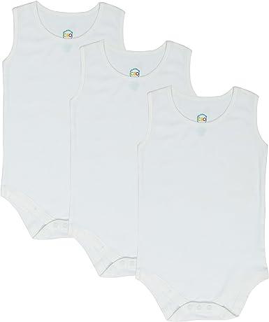 CBObaby 4T 5T 6T Toddler Bodysuit Short Sleeve Round Crew Neck 3-Pack