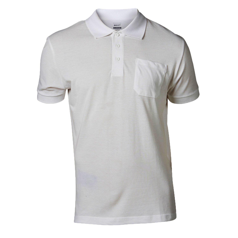 Mascot 51586-968-06-2XL Polo-ShirtOrgon Size 2XL White