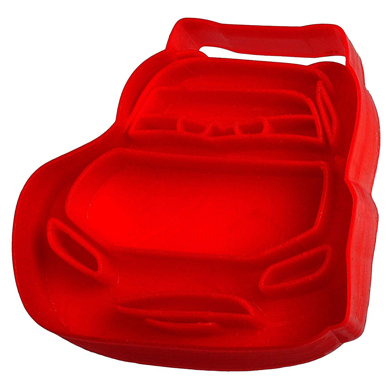 Kinderk/üche Lightning McQueen Set /_ Keks /& Pl/ätzchen Ausstechformen Ausstecher Disney Cars inkl Name alles-meine.de GmbH 3D Effekt /_ 2 * 6 TLG Kek.. Auto BPA frei