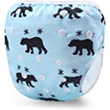 Storeofbaby Reusable Swim Diapers Baby Ajustable Swimming Pants for Boys and Girls 0-3 Years
