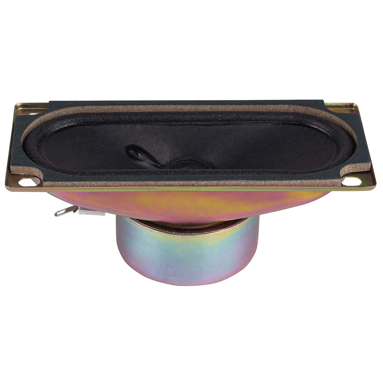 YDP512-12 2 x 4-3//8 Paper Cone Shielded Full-Range Speaker 8 Ohm