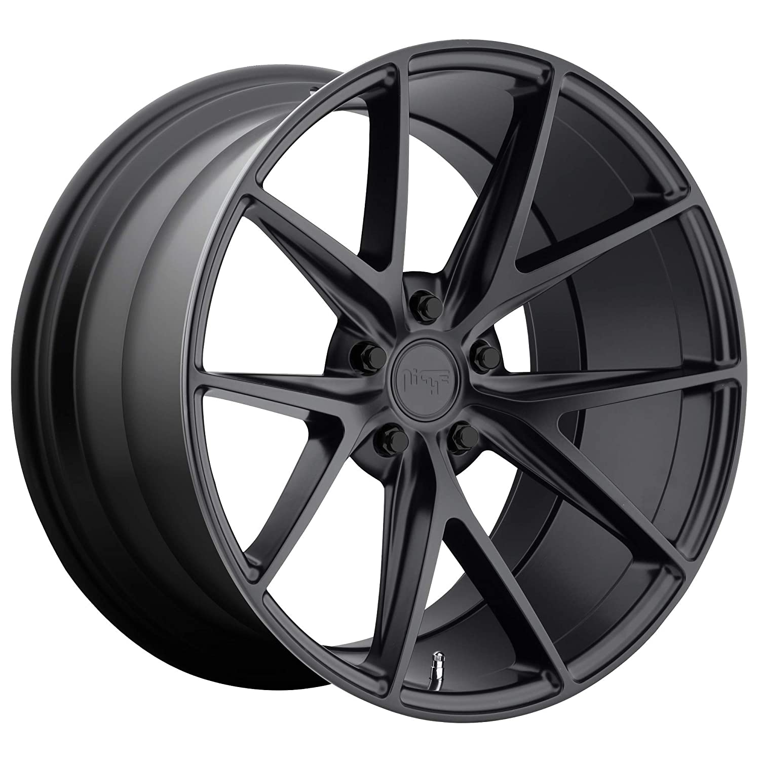 Niche M117 Misano 18x8 5x114.3 +40mm Satin Black Wheel Rim